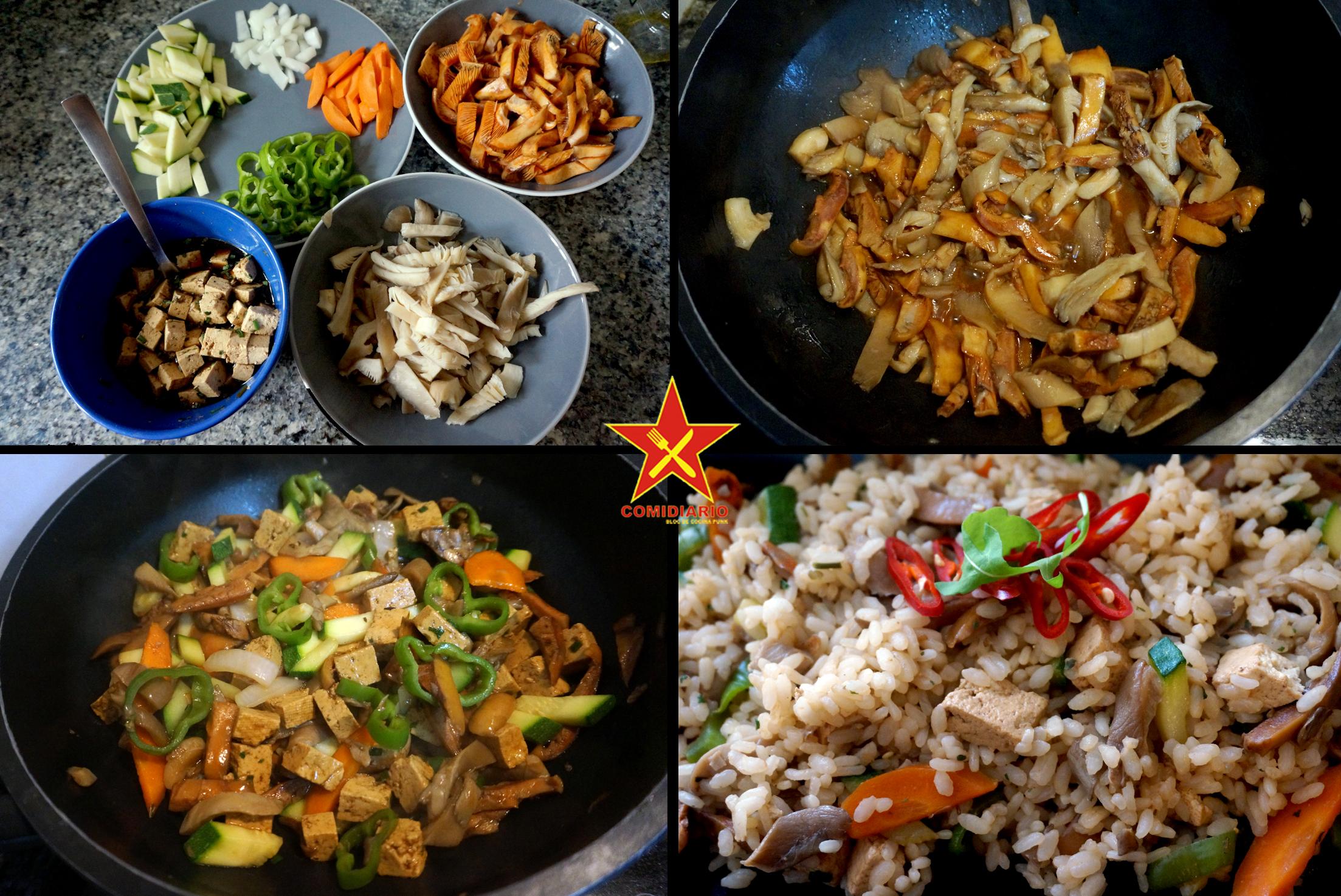 Arroz con setas y tofu comidiario bloc de cocina punk for Arroz con setas y trufa