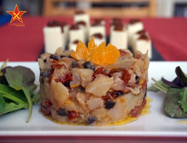 Ensalada de bacalao y mandarina 1